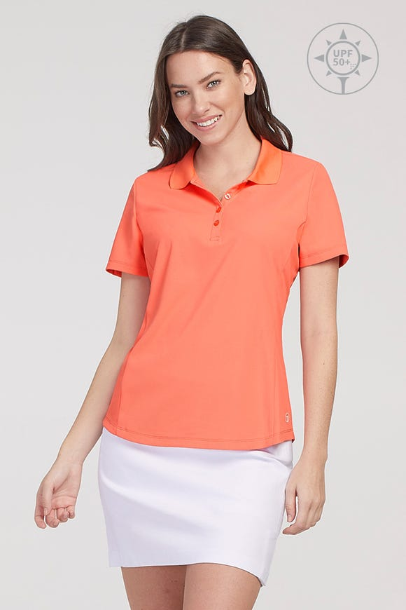 UPF 50+ SHORT SLEEVE POLO