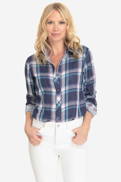 REVERSIBLE BUTTON DOWN SHIRT