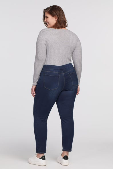 DREAM JEAN PULL-ON ANKLE JEGGING