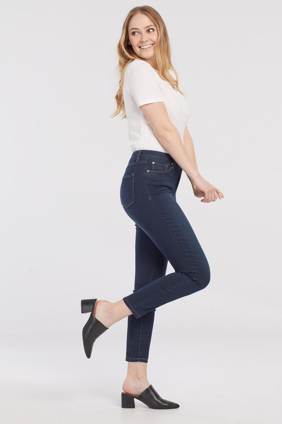 Dream Jean Five-Pocket Ankle Jegging