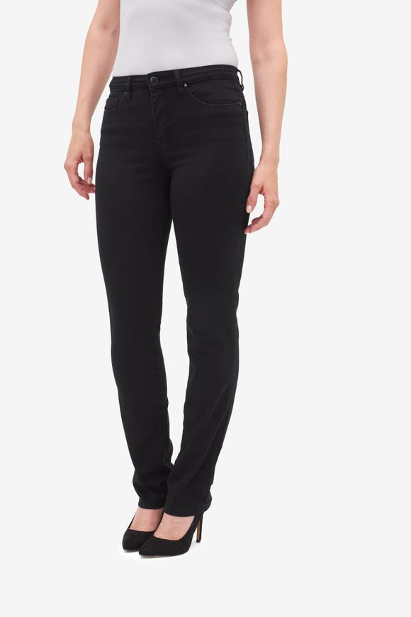 Petite Straight Five-Pocket Jean