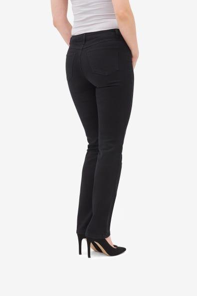 Petite Straight Five-Pocket Jean
