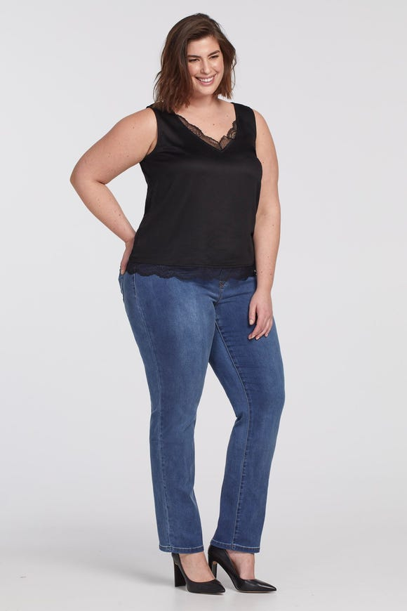 DREAM JEAN PULL-ON STRAIGHT