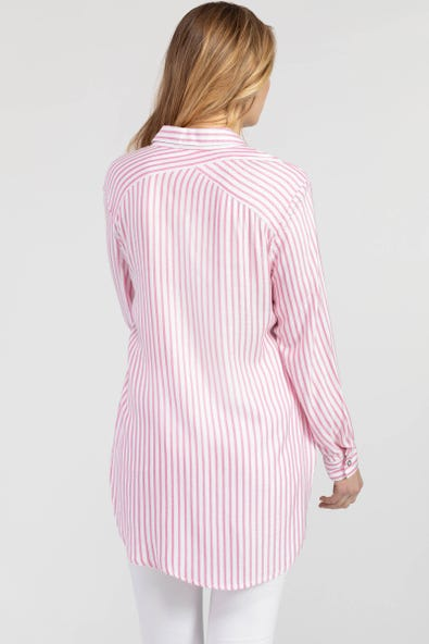 STRIPED LOOSE FIT SHIRT