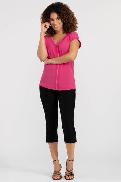 FLATTEN IT® SNAP CUFF PULL-ON CAPRI