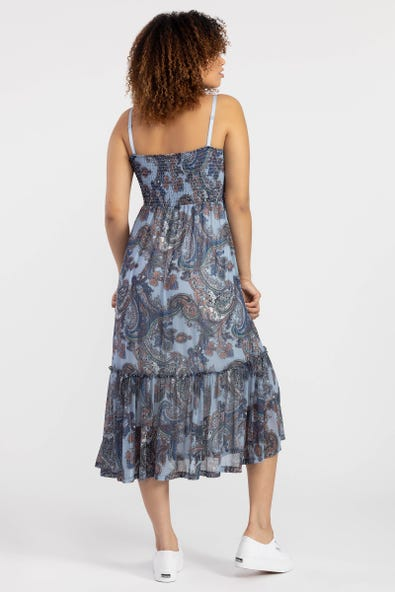 SUNDRESS WITH REMOVABLE STRAPS
