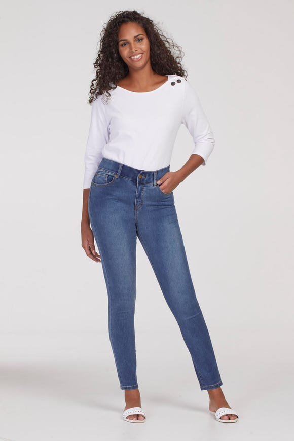 SOPHIA SOFT TOUCH CURVY FIT JEGGING