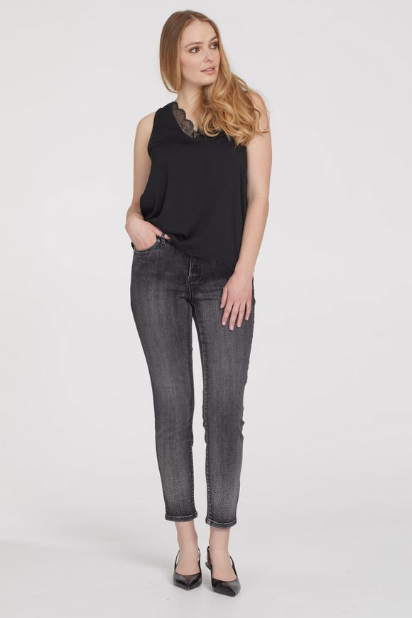 AUDREY 5-POCKET ANKLE JEGGING