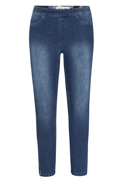 REVERSIBLE PULL-ON ANKLE JEGGING