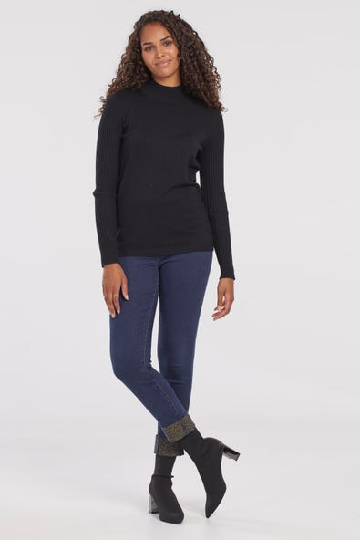 AUDREY PULL-ON ANKLE JEGGING