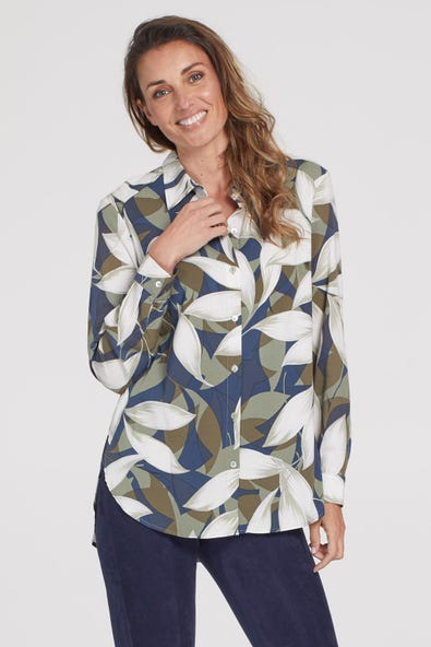LONG SLEEVE SHIRT WITH BACK YOKE