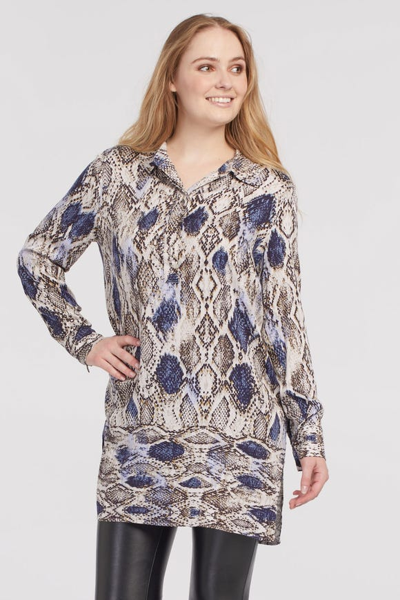 POPOVER TUNIC BLOUSE