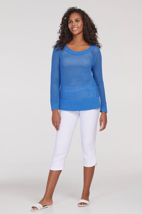 FLATTEN IT® PULL ON CAPRI WITH SIDE SNAP
