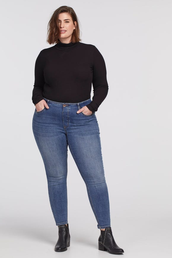 ICON+ PULL ON JEANS